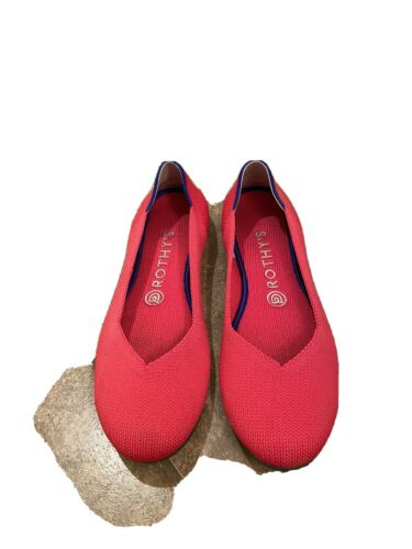 Rothy's Hot Pink Flats 8