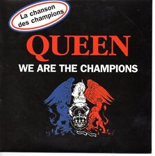 CD SINGLE QUEEN We are the champions 2-track CARD SLEEVE World cup edition NEW