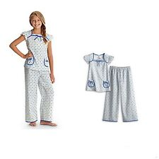 American Girl CL MOLLY FLORAL PJ'S SIZE XS 6 for Girls Retired Pajamas NWT