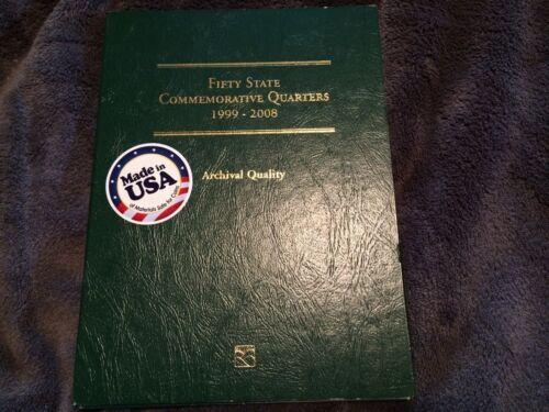 Instant Collection 50 US State Quarters Complete Set Littleton Album 1999-2008