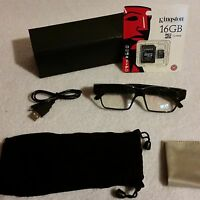 Discrete Lens 1080p 16gb Hd Digital Video Recording Glasses Hidden Camera Spy 1