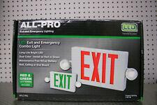 All Pro Exit Emergency Light Exit Sign Led Light 2 Color