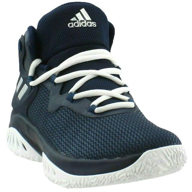 ADIDAS Explosive Bounce Sneakers Brand New Navy Blue Men 10.5 Basketball BY3780