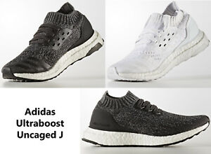 2b596898c ADIDAS UltraBoost Uncaged J Running Shoes Junior Boys Girls Sneakers ...