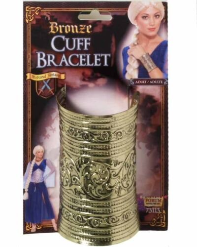 Gold Cuff Bracelet One Size