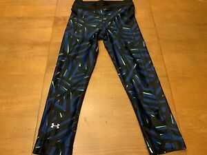 Under-Armour-Heat-Gear-Womens-Size-XS-Compression-Athletic-Capri-Pants
