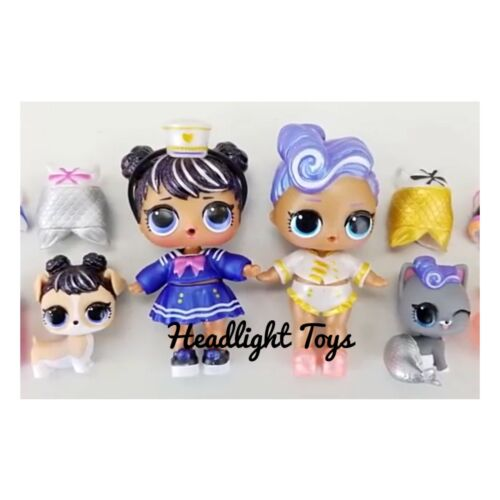 LOL BUBBLY Surprise Series Pink Orange Case Doll Sister Pet Bubble Wand 1 2 3 5