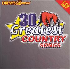 Drew's Famous 30 Greatest Country Songs, Vol. 1 by Drew's Famous (CD, Oct)