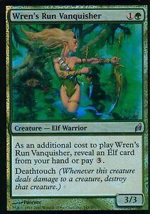 WREN/'S RUN VANQUISHER Lorwyn MTG Green Creature — Elf Warrior Unc