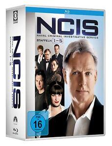 NCIS 1-5 NAVY CIS KOMPLETTE DVD STAFFEL SEASON 1 2 3 4 5 ...