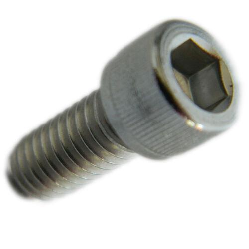 "Stainless Steel socket head cap screws part thread 3//8-16 x 2/"" Qty 25"