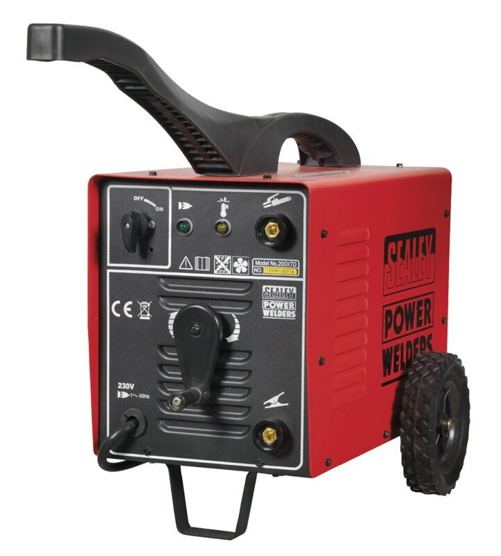 Sealey Arc Welder 200Amp with Accessory Kit 200XTD
