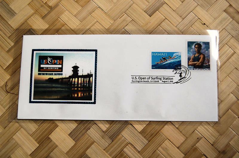 Super Rare US Open Surfing Envelope Duke Kahanamoku