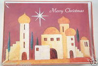 Christmas Greeting Cards Sealed Box Of 16 Picture Of Bethlehem Holiday Cards