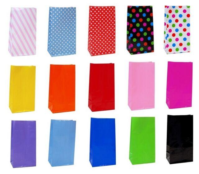 BULK 50 x Paper Party Favor  Loot Lolly Bags Wedding Favor Gift Bag