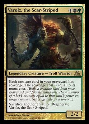 Varolz, lo Sfregiato - Varolz, the Scar-Striped MTG MAGIC DgM Dragon's Maze Eng