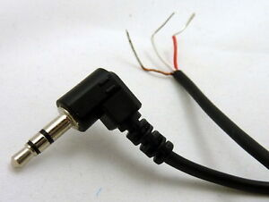 Philmore 6 Ft Audio Cable Right Angle 3.5mm (1/8\