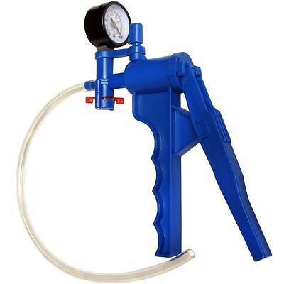 NC-6678 Vacuum Pump with Pressure Gauge, filtration, liquid transfer