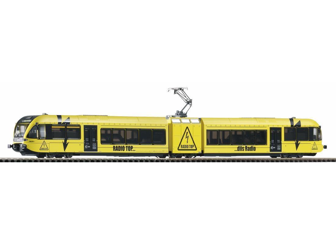 Piko Expert 59539 DC con DSS elektrojoriebwagen GTW 2 6  stadler  SBB teletop nuevo