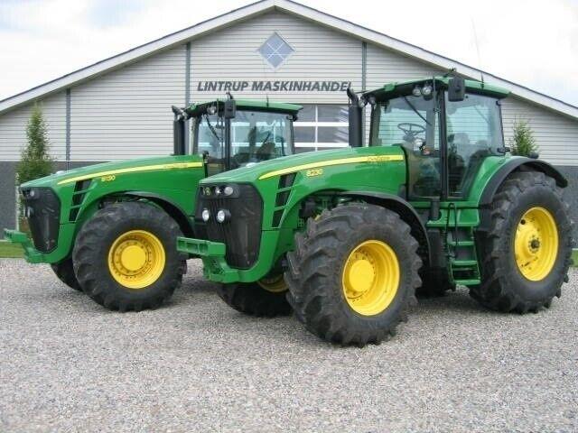 John Deere, Købes til eksport 7000 og 8000 serier traktorer