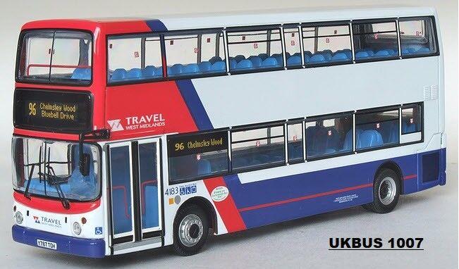 CMNL UKbuss 1007 Dennis Trident ALX400 Resor West Midlands buss 1  76