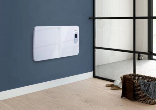 Netta électrique 1500 W Digital Métal Panneau rayonnant Radiateur Thermostat Minuterie Hebdomadaire
