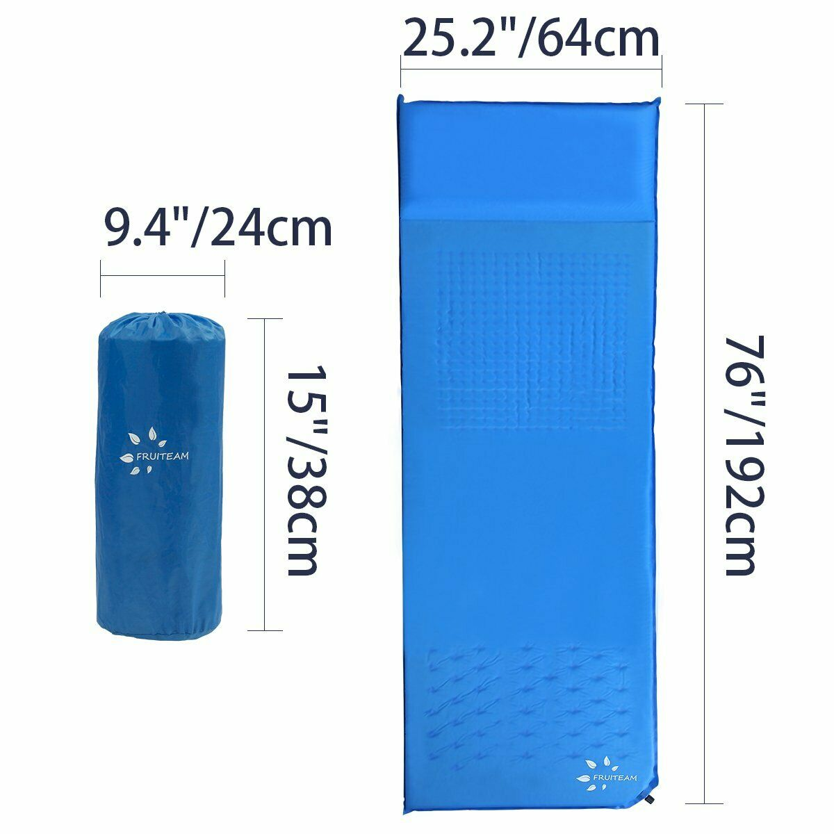Sleeping Pad Self Inflating Camping Pad with Pillow  Lightweight Foam Pad Air AB4  famous brand