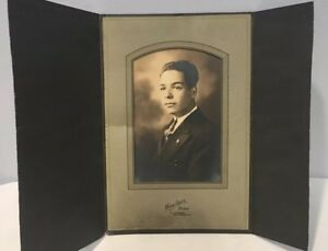 Antique-Photo-In-Cabinet-Card-From-Early-1900-039-s-Rare-Excellent-Condition-11of14