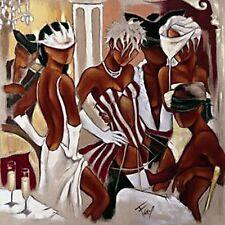 Pierre Farel: Le Gage Libertin Fertig-Bild 70x70 Wandbild Party Tanz Glamour