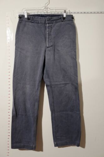 Vintage French workwear Pants. size 32