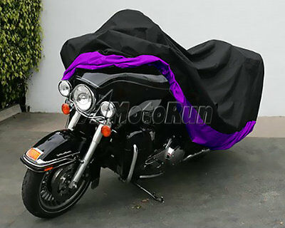 XXXL Motorcycle Waterproof Cover UV Protector fit Harley Touring Honda Goldwing