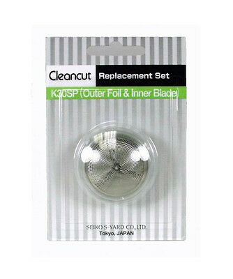 Cleancut Shaver ES412 Intimate Area Shaver Replacement Blades Foil