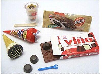 RARE Megahouse dollhouse miniature chocolate ice cream bar cones sundae 2006