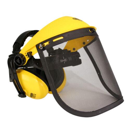 OREGON Gesichtsschutz  Kombi Kombination Kopfschutz Gehörschutz Freischneider