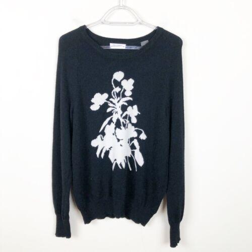Equipment Sloane Cashmere Sweater Ivory Black Flow