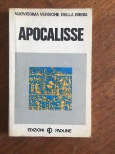 LIBRO-APOCALISSE-NUOVISSIMA-VERSIONE-DELLA-BIBBIA-Edizioni-Paoline-1973