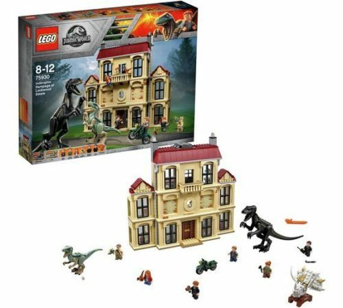 Lego Jurassic World Maisie and Indoraptor Play Set  75930 (New & Sealed)
