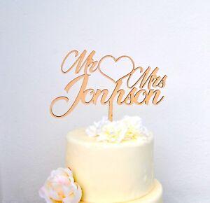 Tortenstecker Holz Hochzeit Personalisiert Cake Topper Figur Name