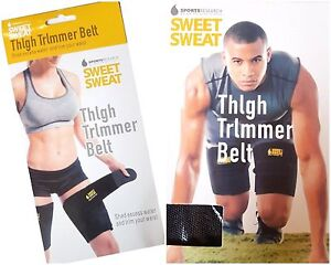 Cuisse-Trimmer-Ceinture-Sweet-Sweat-neoprene-Trim-Slimming-Thigh-Wraps-Weight-Loss
