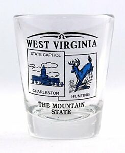 WEST-VIRGINIA-STATE-SCENERY-BLUE-NEW-SHOT-GLASS-SHOTGLASS