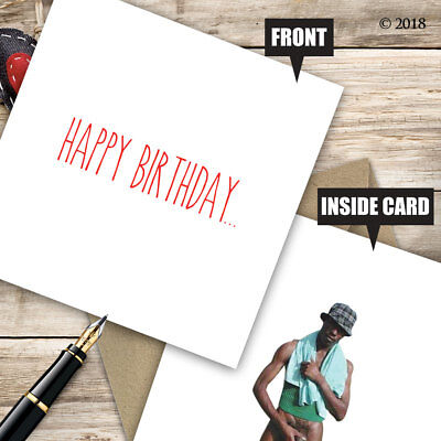 Birthday Greetings Card Funny Adult Cheeky Rude Quirky Insult Friend Mate