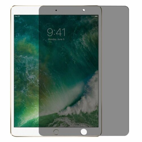 Anti-Spy Privacy Tablet Tempered Glass Screen Protector For Apple iPad Pro 10.5