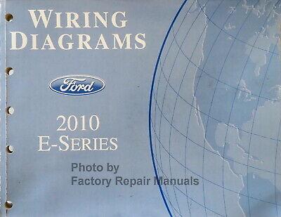 2010 Ford Econoline E150 E250 E350 E450 Electrical Wiring Diagrams Original  | eBayeBay