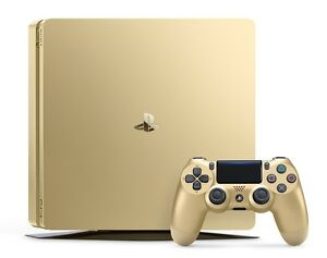 PlayStation 4 Slim 1TB Gold Console