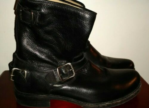 Frye Zip Back Engineer Boot 10 EUC