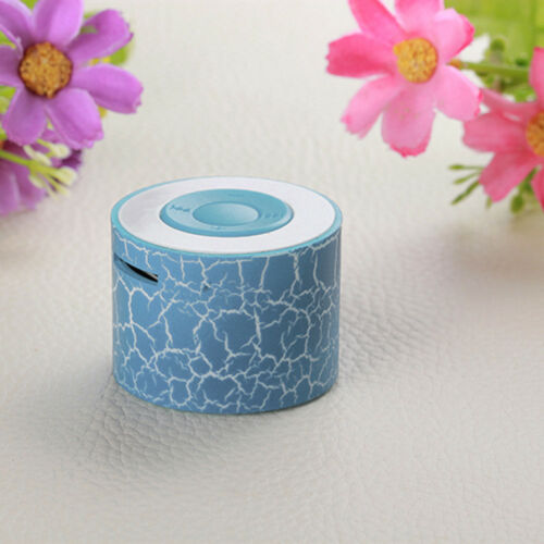 Portable Wireless Mini Stereo Bass Speakers Music MP3 Player TF Speaker AUX USB