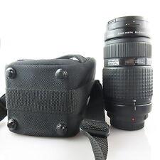 Olympus Zuiko Digital 50-200mm 2.8-3.5 ED Objektiv mit case, caps und hood