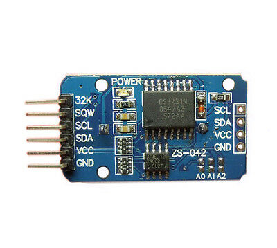 2Pcs DS3231 AT24C32 IIC precision Real time clock memory module for Arduino
