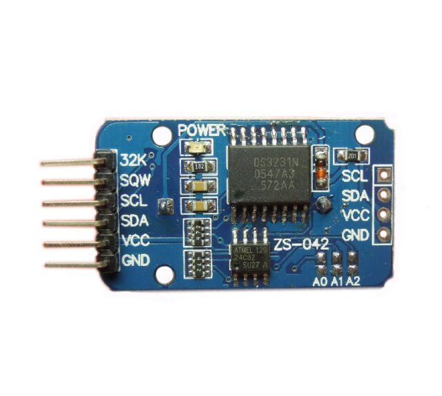1Pcs DS3231 AT24C32 IIC precision Real time clock memory module for Arduino