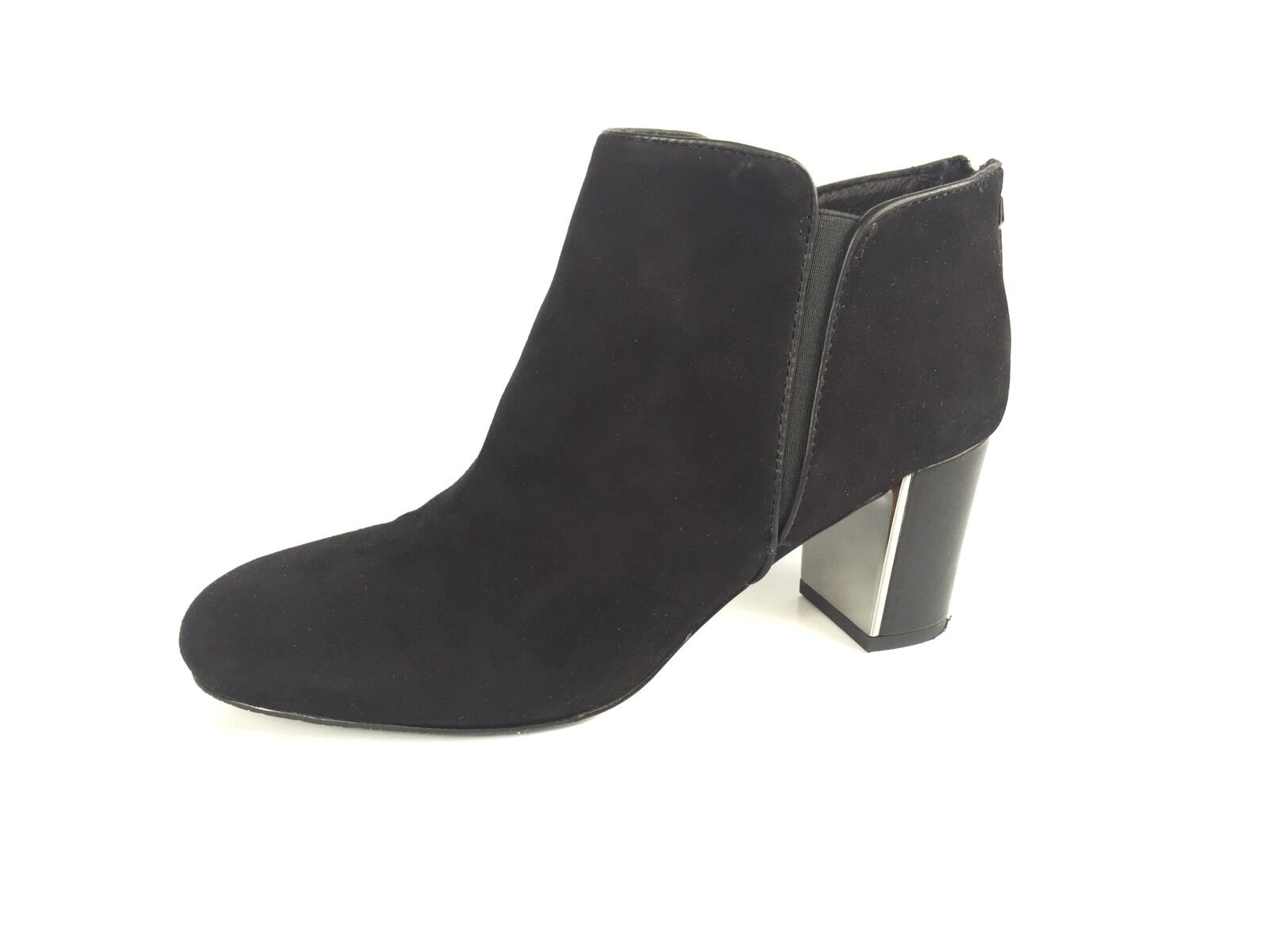 Donald J Pliner Cosmo gamuza tobillo botas negras para mujer mujer mujer Talla 7.5 M  precios ultra bajos
